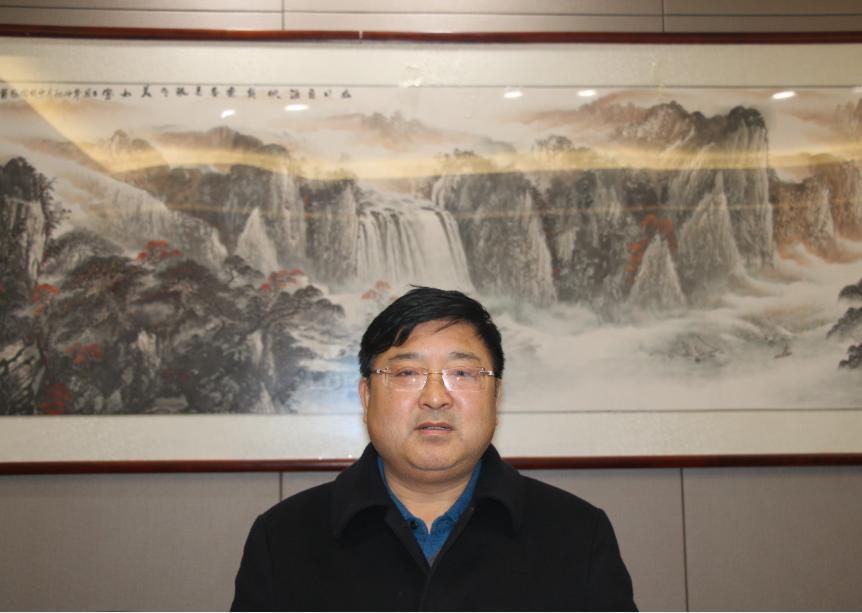 执行会长杨玉林(安徽世界村功能饮品有限公司总经理)