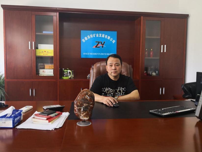 执行会长沈维忠(安徽泽阳矿业发展有限公司董事长)